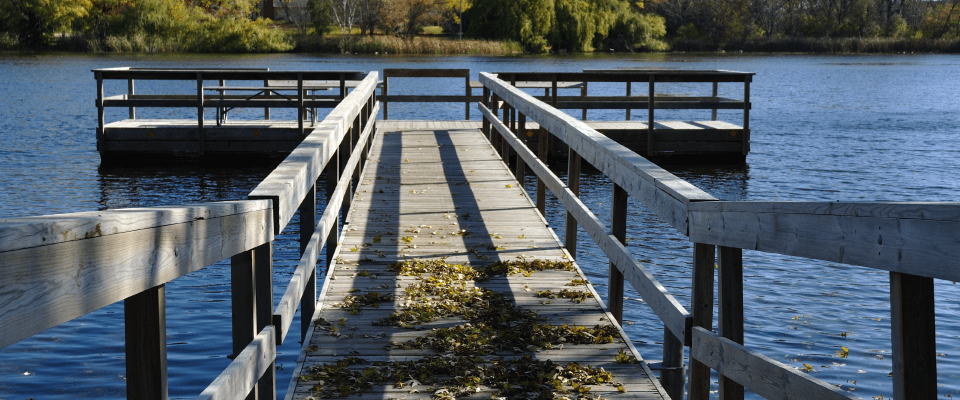 Fishing Dock Over the water